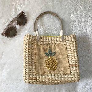 Handbags - 🌹Mini Pineapple Corn Husk Bag